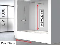 Duschabstrennung 70 cm - Verkauf Duschabstrennungen 70x180, 70x185 ...