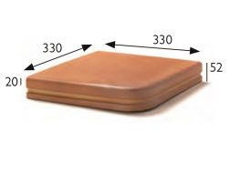 33x33 Natural Treppenlauffl�che, Pool Coping, Feinsteinzeug  - Gres Aragon