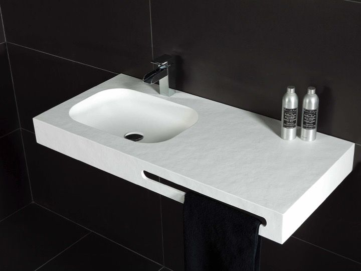 Waschtisch, 50 x 120 cm, Mineralwerkstoff Corian - OBA 60