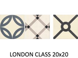 LONDON CLASS 20x20 - Fliesen, Zementfliesenoptik - MAINZU