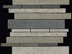 Carbon multieffect Strip Mosaik Blatt 30,5x30,5 cm, Boxer.