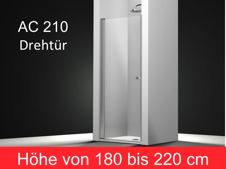 duschabtrennungen largeur 45 duscht r schwenkbar 45 cm montage linke h he 180 bis 220 cm. Black Bedroom Furniture Sets. Home Design Ideas