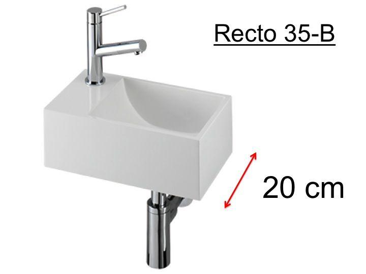Kleine Waschbecken badmöbel waschbecken handwaschbecken lave mains waschbecken wc