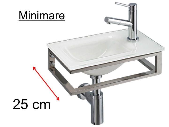 badm bel waschbecken handwaschbecken lave mains waschen der h nde in wei glas. Black Bedroom Furniture Sets. Home Design Ideas