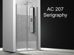 duschabstrennung 90 cm verkauf von duschabstrennungen. Black Bedroom Furniture Sets. Home Design Ideas